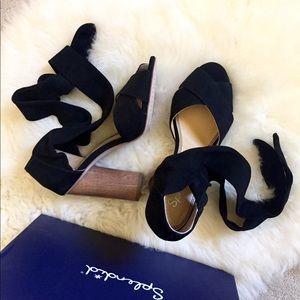 5e8c7924d02 Splendid Shoes - Splendid Johnson Block Heel Suede Sandals